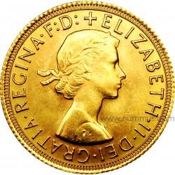 Sterlina oro Elisabetta II