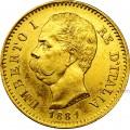 Marengo oro Italia U. I.