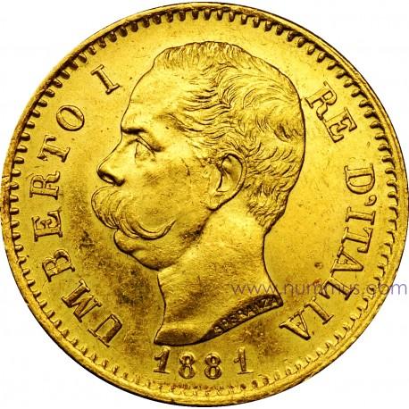 Marengo oro Italia Umberto I