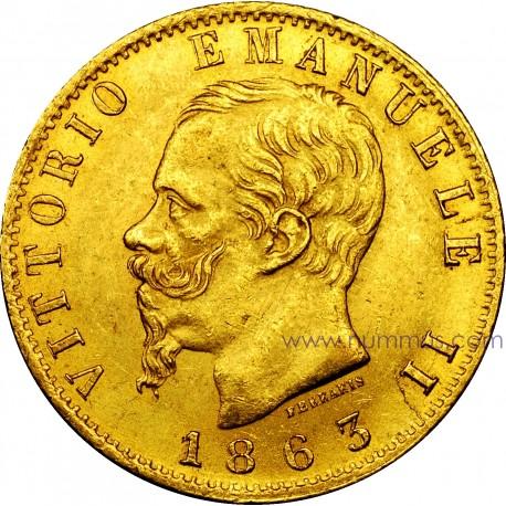 Marengo oro Italia Vittorio Emanuele II