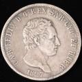 Carlo Felice 5 Lire 1827 Genova