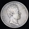 Carlo Alberto 5 Lire 1835 Genova