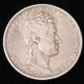 Carlo Alberto 5 Lire 1836 Genova