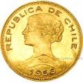 100 Pesos oro Chile