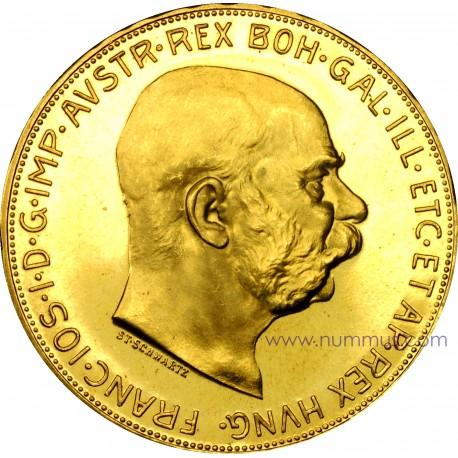 100 Corone oro Austria