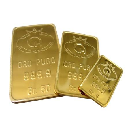 Lingotto in oro 5 grammi