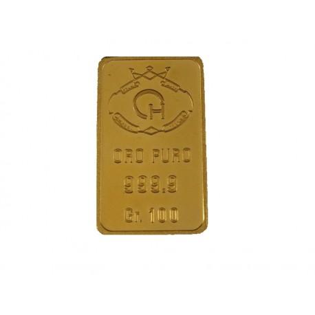 Lingotto in oro 100 Grammi