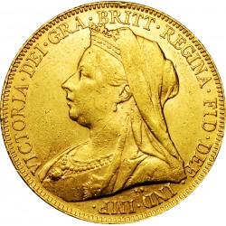 Sterlina oro Vittoria