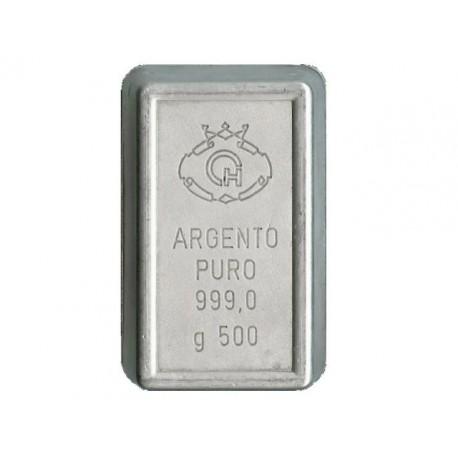 Lingotto in Argento 999 da 500 grammi