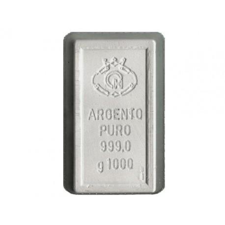 Lingotto in Argento 999 da 1 kg.